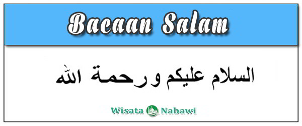 Bacaan Salam