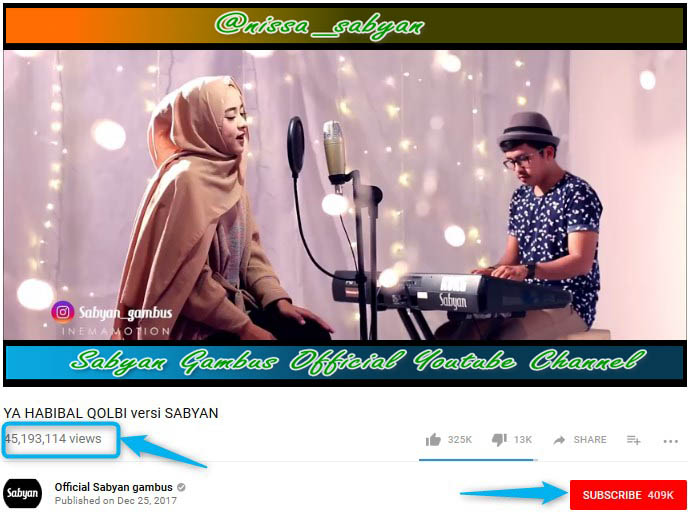 download lagu ya habibal qolbi sabyan gambus metrolagu